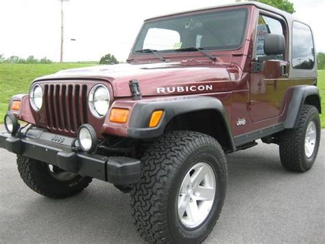 Used Jeeps In Virginia Sell Used 2003 Jeep Wrangler Rubicon 4x4 82k Clean 4