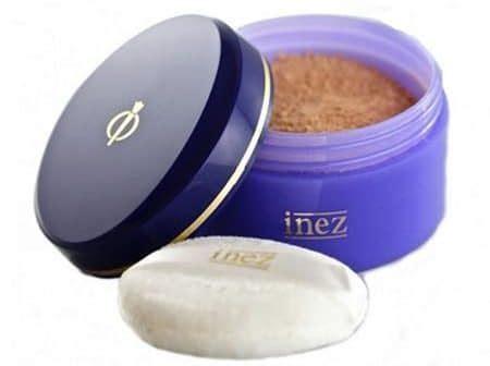 Harga Inez Translucent Acne Care Powder 10 merk bedak untuk kulit berjerawat yang recommended