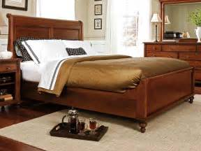 durham furniture savile row sleigh bed w low
