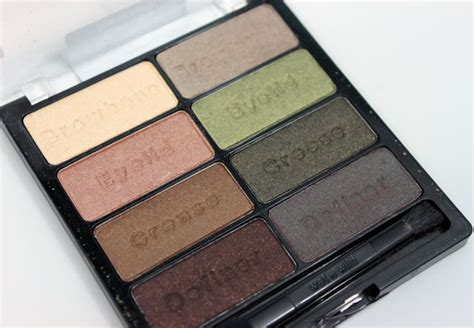 comfort zone palette wet n wild 8 eyeshadow palettes swatches photos review
