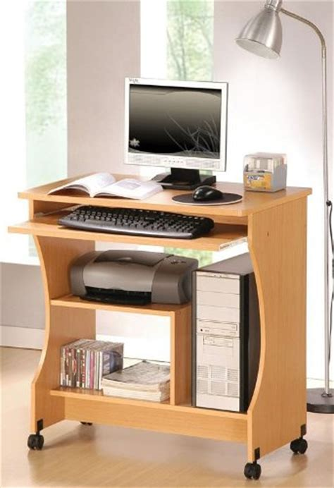 computer desk with casters pottery wheel discount home office computer desk with