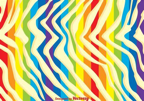 background print rainbow zebra print background free vector