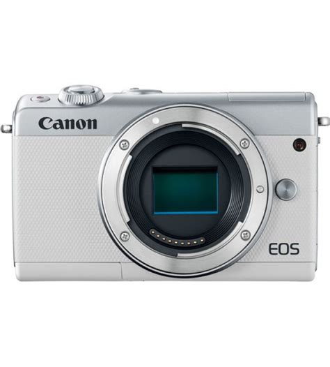 Canon Eos M100 Kit 15 45mm Is Stm Putih White canon eos m100 kit 15 45mm f 3 5 6 3 is stm