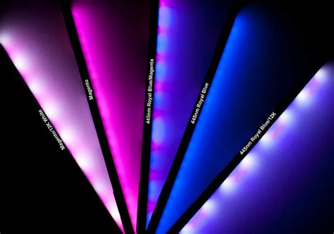 ecoxotic stunner led strips 5 new colors reef tools