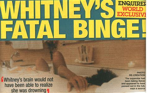 upclose national enquirer whitney houston photo in whitney houston s death photo freddyo com