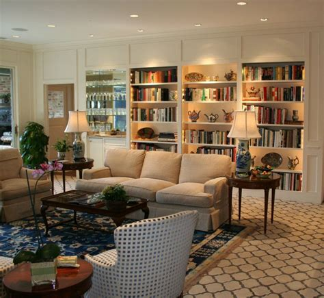 living room with bookshelves living room bookcases ktrdecor com