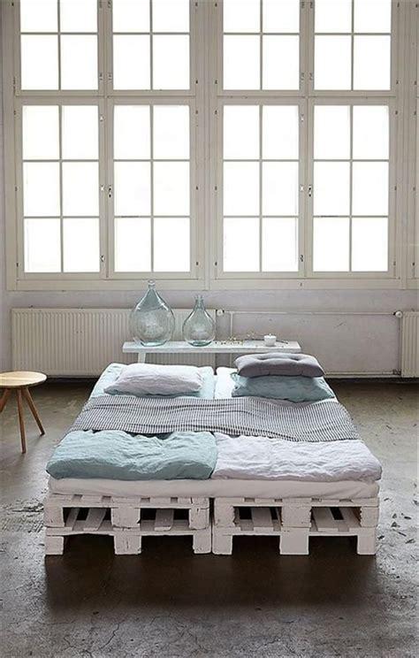 pallet bed frame ideas diy 20 pallet bed frame ideas queen size diy bed frame