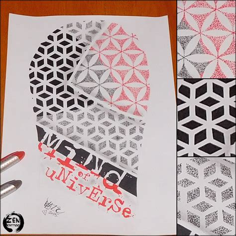 geometric tattoo zagreb mind of universe tattoo design by blazeovsky on deviantart
