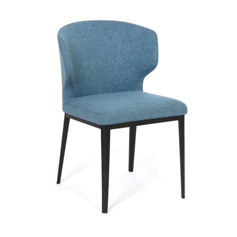 chaises bleues cabo chaises bleues mikaza meubles modernes montreal