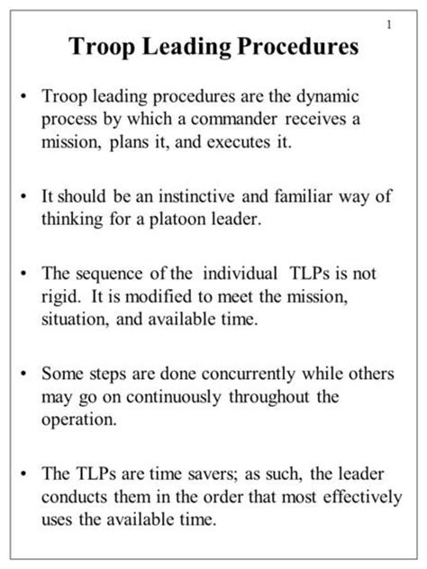 tentative layout meaning 8 troop leading procedures related keywords suggestions