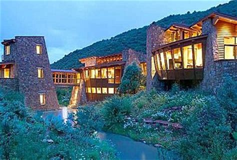 Awesome Home Interiors so cool house built into the mountains houses