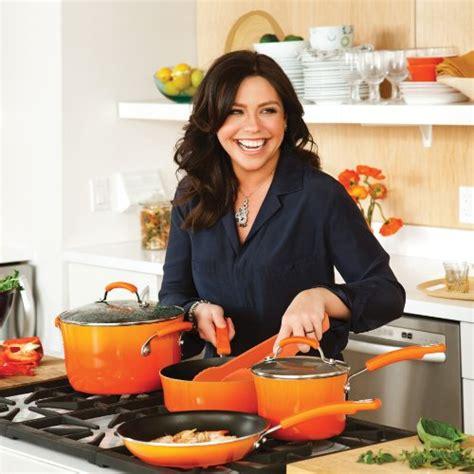 rachael ray kitchen appliances rachael ray porcelain enamel 12 piece blue cookware set