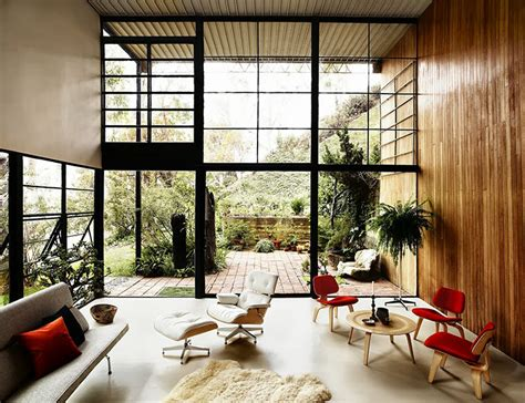 Eames House Interior by Eames House In Pacific Palisades The Gorgeous Daily