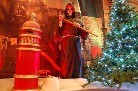 christmas carol theme decorations and props flaming fun