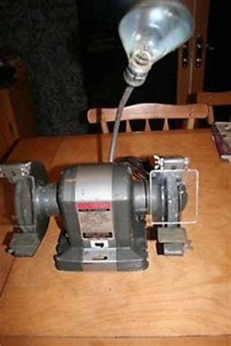american made bench grinder sears craftsman 6 quot bench grinder sharpener 397 19581 usa