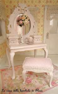 reserved pale pink princess dressing table and stool 1