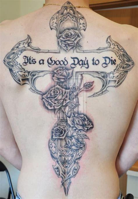 60 Best Cross Tattoos Meanings Ideas And Designs 2018 Flower Cross Tattoos Designs