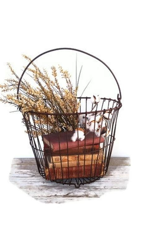 1000  ideas about Wire Basket Decor on Pinterest