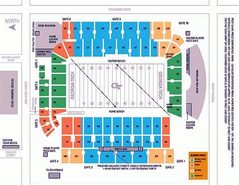 tech stadium seating capacity tech basketball seating chart brokeasshome