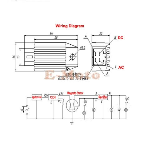 rectifier for gy6 150cc wiring diagram 28 images