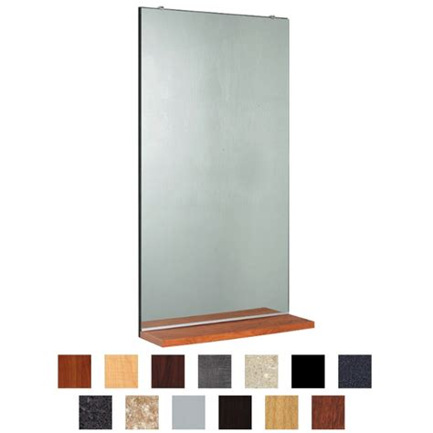 kaemark rectangle mirror shelf