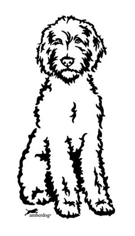 goldendoodle drawing drawings and search on