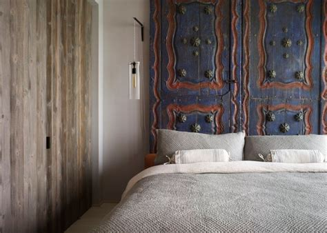 using doors as headboards clever repurposing door headboard ideas