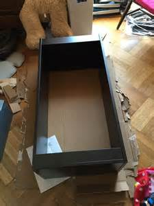 turn the trofast frame into a rolling drawer ikea