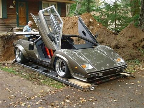 Who Builds Lamborghini Home Made Lamborghini Built In 10 Years 35 Pics