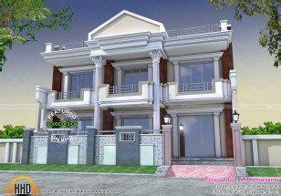 long front pillar home design kerala home design bloglovin