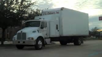 kenworth sleeper cab box truck