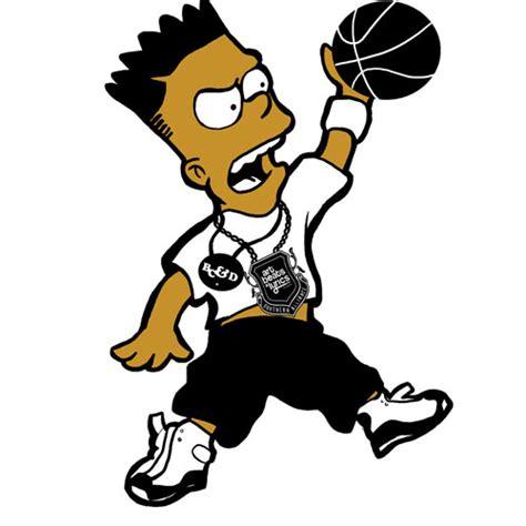 T Shirt Supreme Bart Simpsons Premium bart 3 cad 2 00 irononsticker