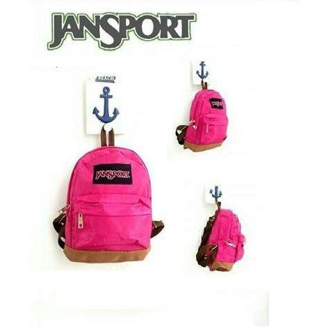 Ransel Mini Polos Pink tas ransel jansport mini waterproof pink shopee indonesia