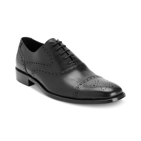 johnston murphy shoes johnston murphy albright cap toe lace up shoes in brown