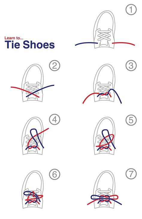 teaching how to tie shoes learn to tie shoes on behance