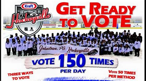 contest 2015 usa vote for johnstown for the kraft hockeyville usa contest