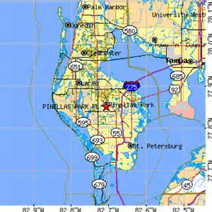 pinellas park florida fl population data races
