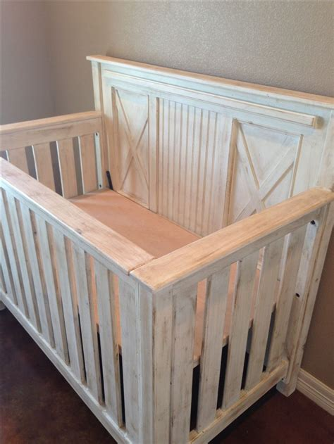 Handmade Cribs - build baby crib woodworking projects plans