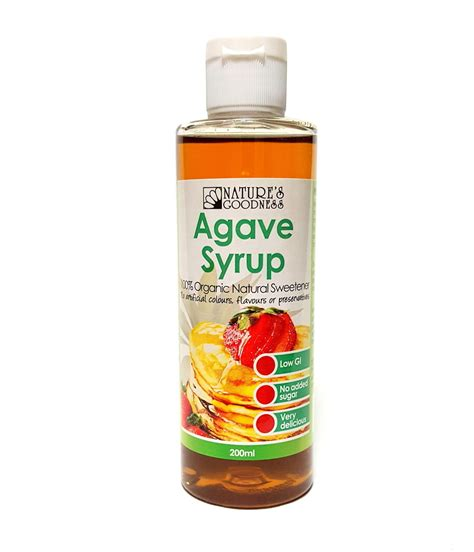 what is benefits of agave nectar for black women hair natures goodness organic agave syrup 200ml as sweetener