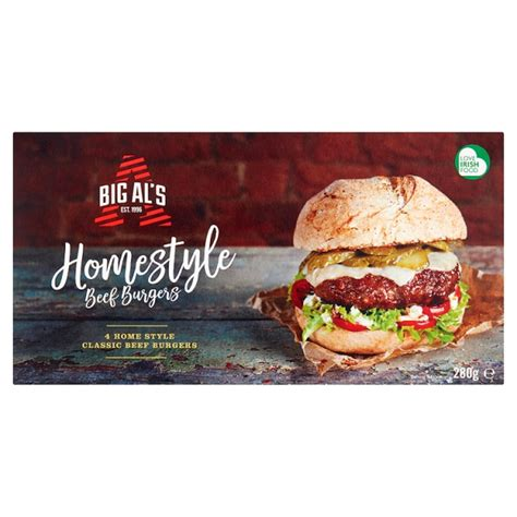 Ready Re Ment Doraemon Fast Food Burger Shop Miniature Dollhouse 1 big als homestyle beef burgers 4 pack