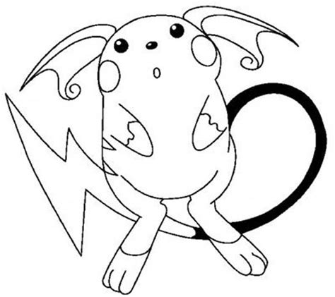 Free Printable Pikachu Coloring Pages For Kids Pictures Of Pikachu To Color