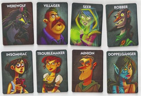 printable werewolf cards one night ultimate werewolf is a howling good time geekdad