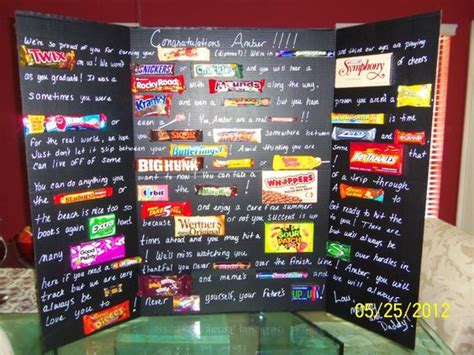 Candy Gift Card - candy card for my daughter s graduation creations pinterest graduation cute