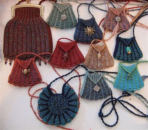crochet jewelry bag pattern beaded amulet bags free pattern for smaller size