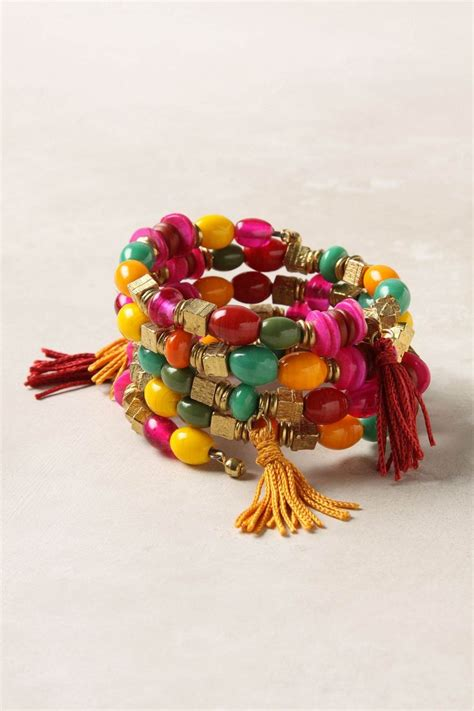 Tasseled Layered Bracelet 133 best images about boho jewelry on tassels