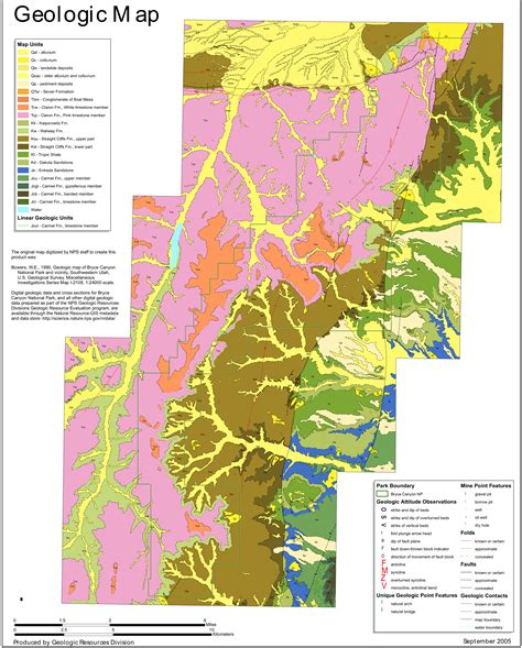 bryce national park map bryce maps npmaps just free maps period