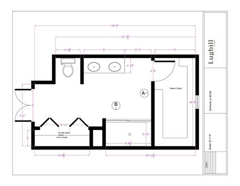 Bathroom Plans by Master Bath Floor Plans With Walk In Shower Wpxsfo