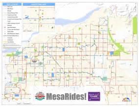 Map Of Mesa Arizona by Mesa Az Bike Map Maplets