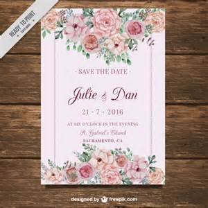 wedding invitation vectors photos and psd files free