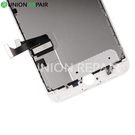 replacement for iphone 7 plus lcd screen assembly without home button white